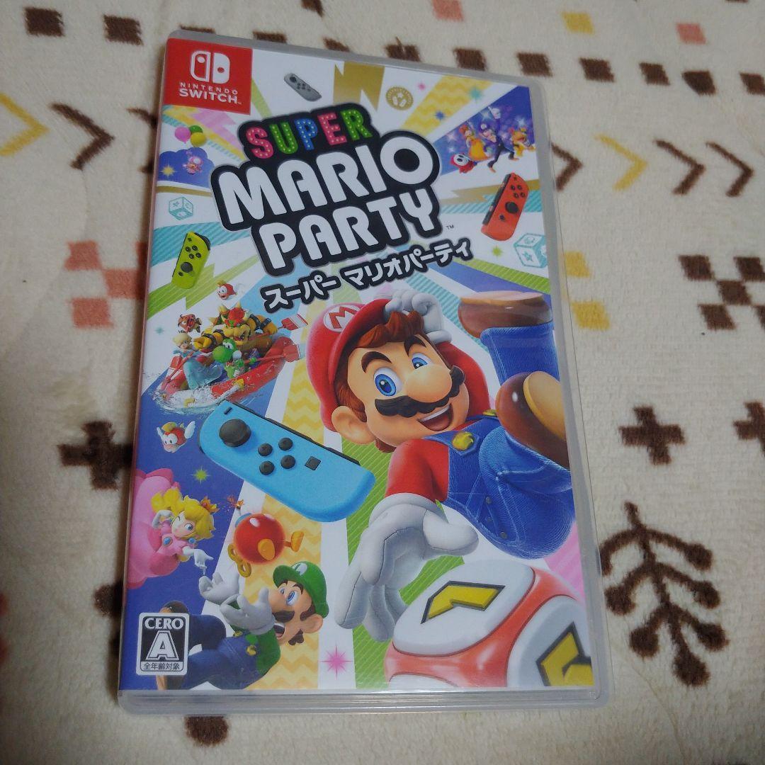 日本直送 二手 任天堂Switch 遊戲 超級瑪利歐派對 mercari