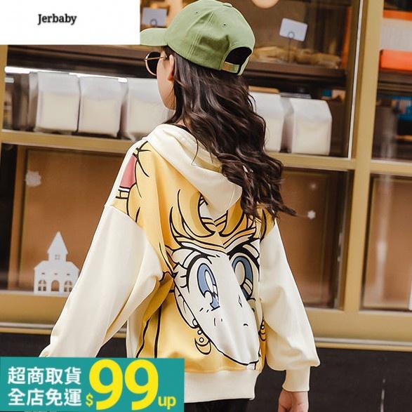 【現貨】童裝親子裝女童運動套裝秋裝新款網紅韓版中大童兒童裝洋氣兩件套