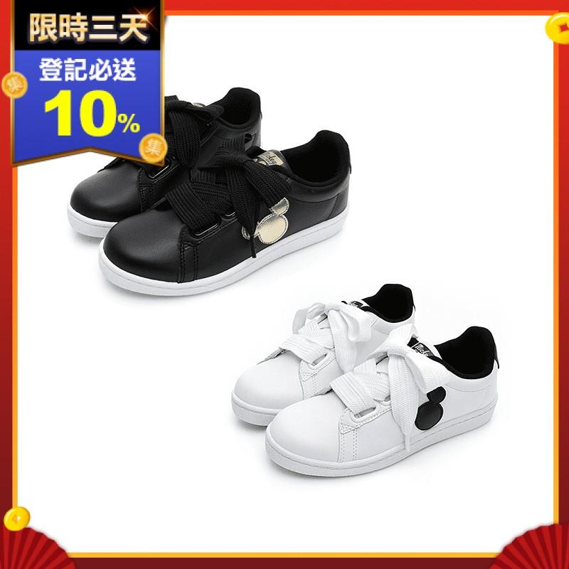 【Disney 迪士尼】經典潮流 米奇點點休閒鞋