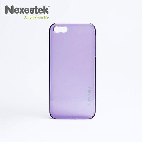 Nexestek iPhone 5/5S/SE透明手機保護殼  - 奢華紫色