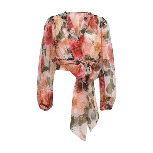 Camelia Acqua blouse