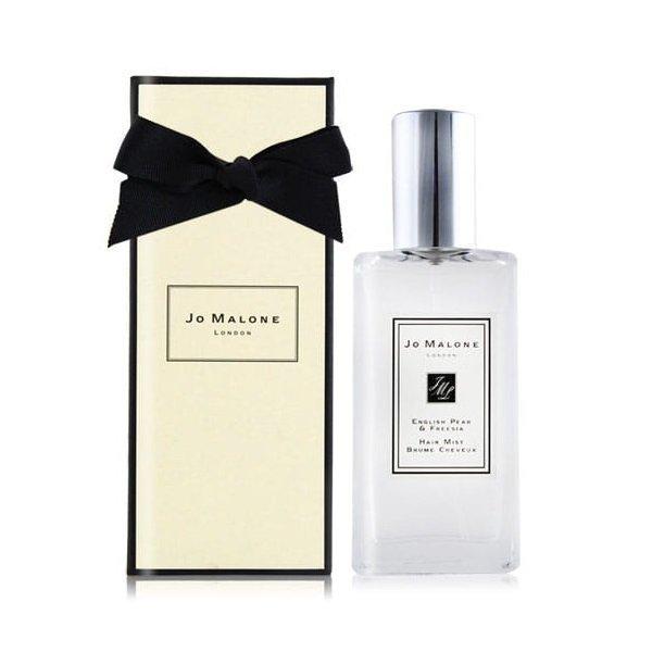 JO MALONE 祖馬龍 英國梨與小蒼蘭香氛美髮噴霧 30ML 黑皮TIME 77540