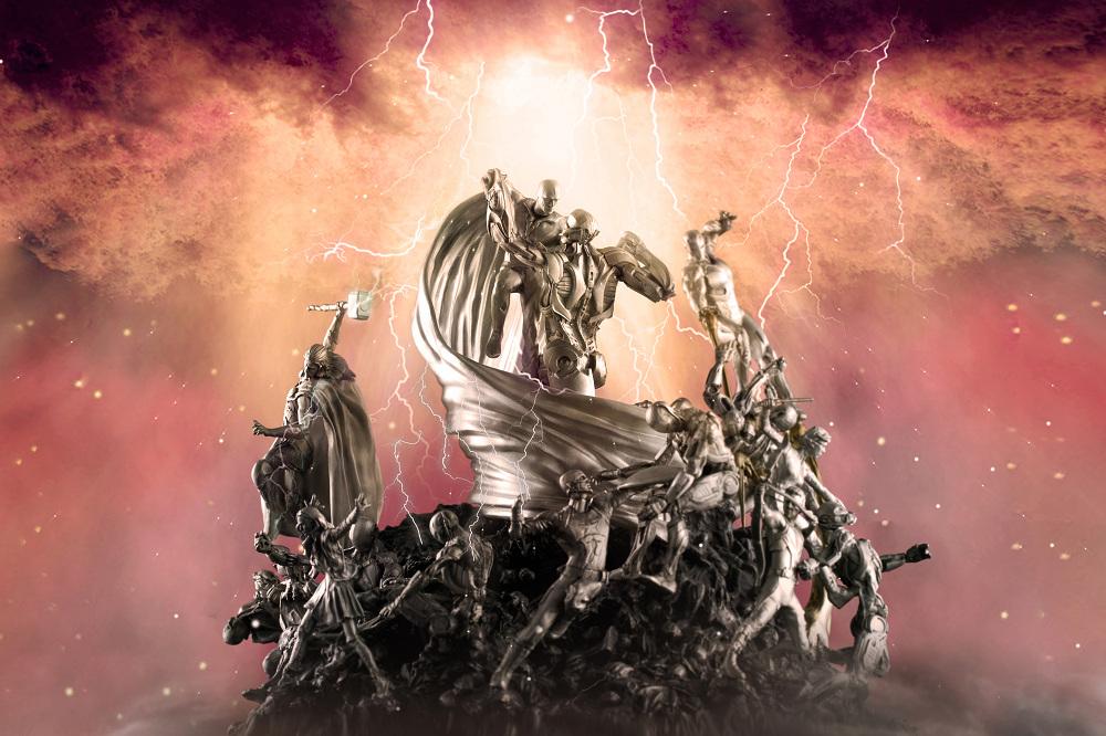 【預購】RS 漫威超級英雄 復仇者聯盟2:奧創紀元 限量錫合金場景雕像