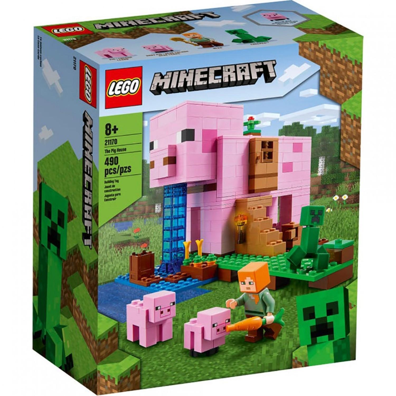 樂高 LEGO - 樂高積木 LEGO《 LT21170 》Minecraft 系列 - The Pig House-490pcs