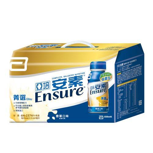 亞培安素菁選香草禮盒237ml X6入/盒【愛買】