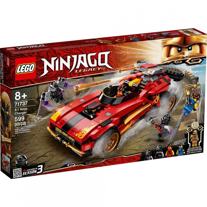 樂高 LEGO - 樂高積木 LEGO《 LT71737 》 NINJAGO 旋風忍者系列 - X-1 忍者電極跑車-599pcs