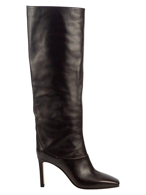 Mahesa Tall Leather Boots