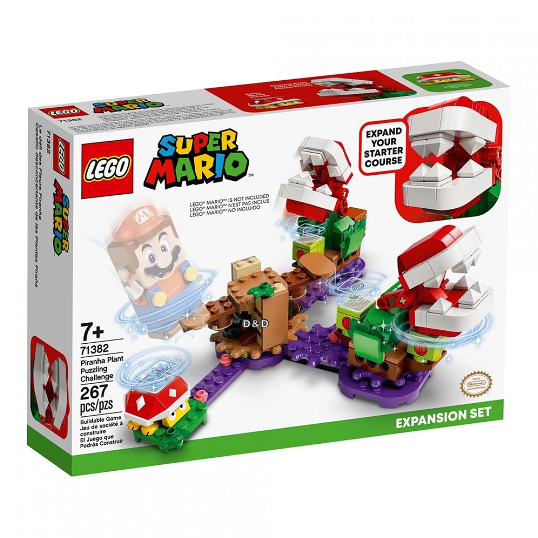 樂高 LEGO - 樂高積木 LEGO《 LT71382 》SUPER MARIO超級瑪利歐系列 - 吞食花益智解謎組-267pcs
