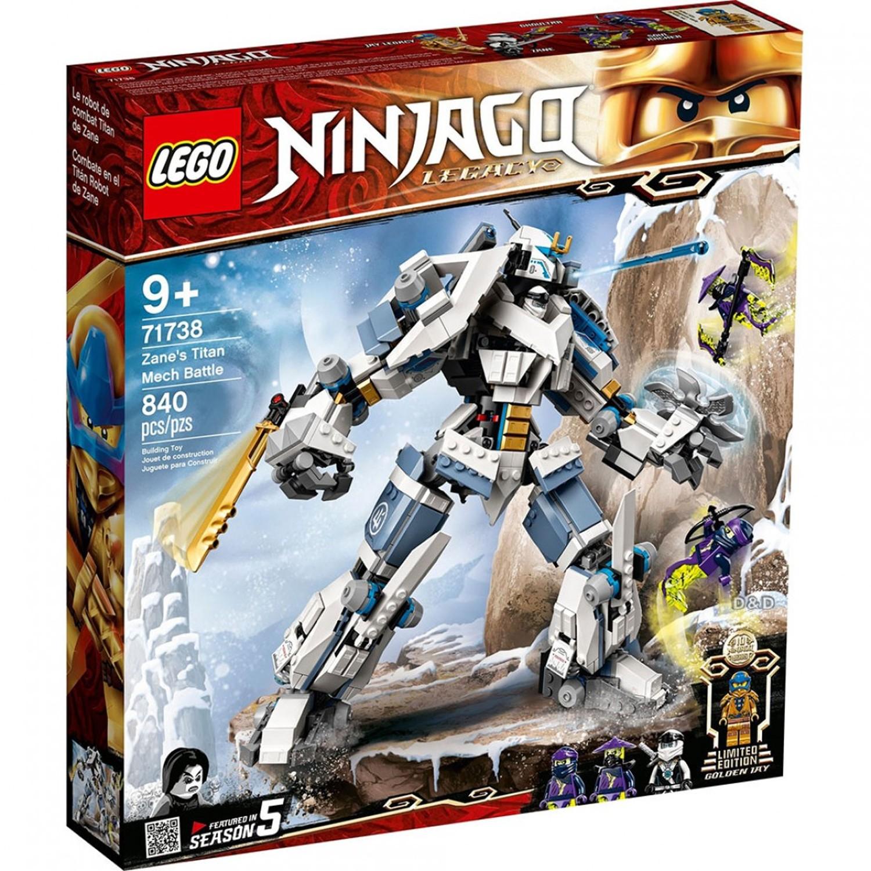 樂高 LEGO - 樂高積木 LEGO《 LT71738 》 NINJAGO 旋風忍者系列 - 冰忍的鈦機械人之戰-840pcs