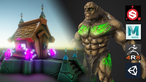 Pipeline game con Substance, Maya, Zbrush y Unity