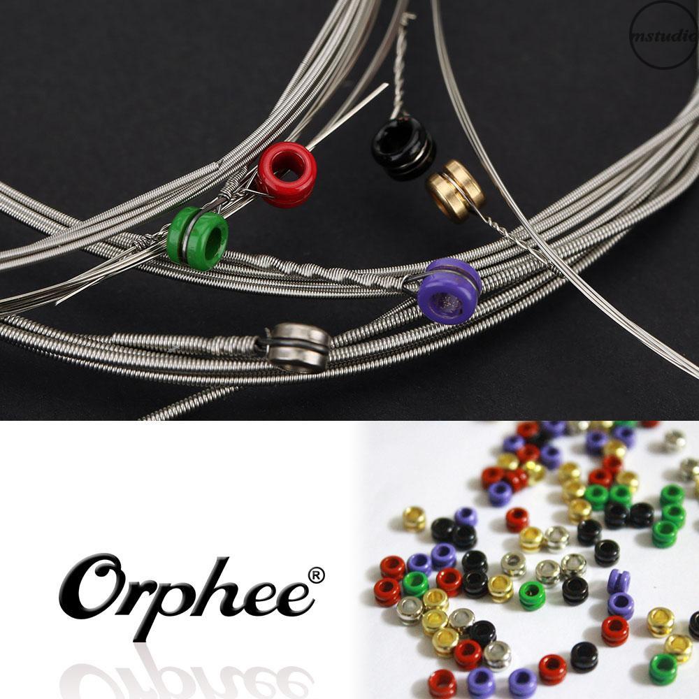 Orphee RX19 電吉他琴弦(.011-.050) 六角碳鋼內材料鎳合金外材料中拉力1套6根