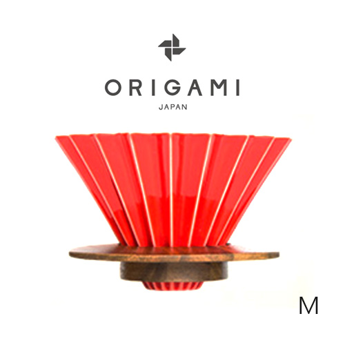 日本 ORIGAMI 摺紙咖啡陶瓷濾杯組 M 第二代 (11色) 2019咖啡冠軍專用杯(預購樹脂杯座2月中出貨,預購濾杯3月中出貨)