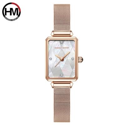 HANNAH MARTIN 皇家母貝米蘭帶腕錶