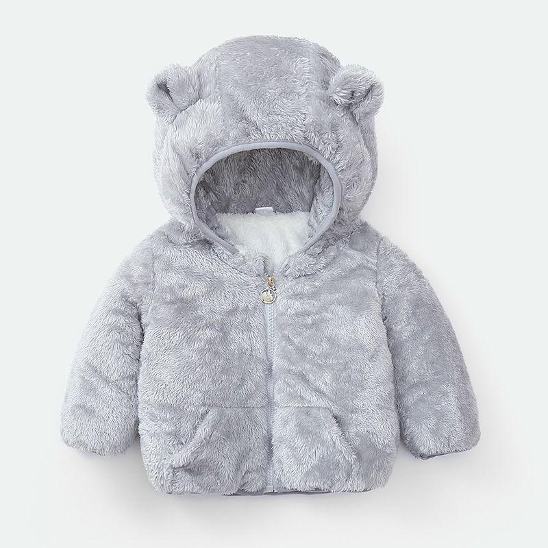 【加絨加厚】兒童棉服男女童嬰幼兒加絨款棉襖中小童棉衣加厚外套