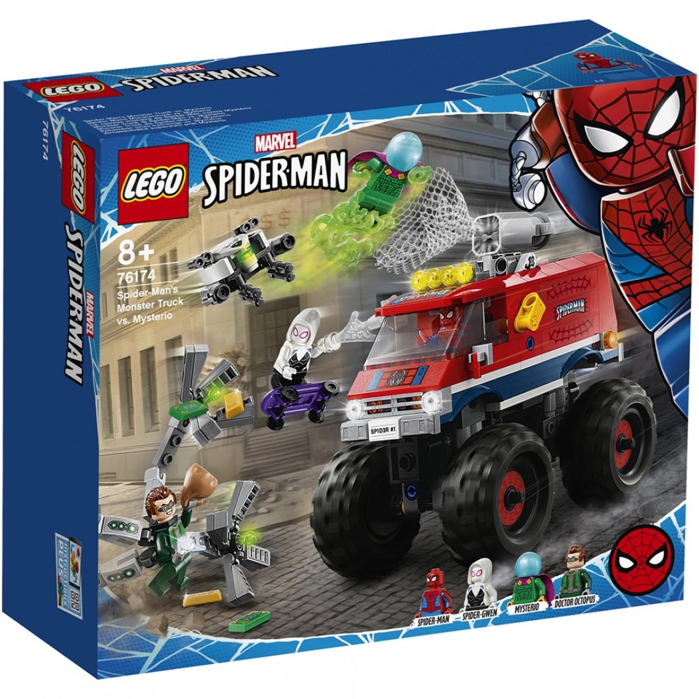 樂高 LEGO - 樂高積木 LEGO《 LT76174 》SUPER HEROES 超級英雄系列 -  蜘蛛人的怪獸卡車vs神秘客-439pc...