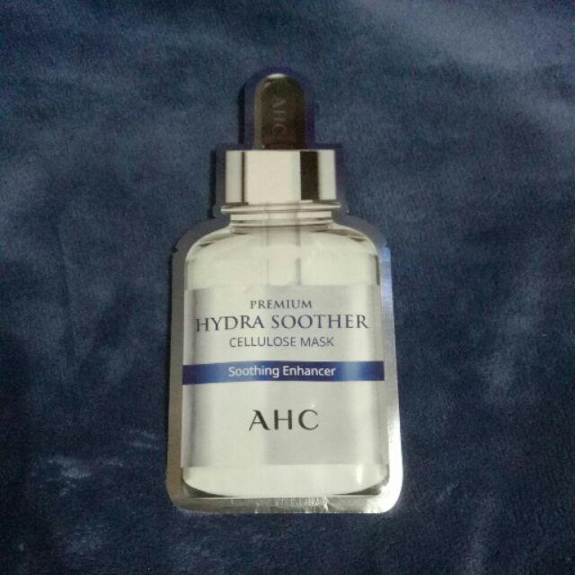 韓國AHC安瓶精華天絲纖維面膜《玻尿酸保濕》27ml