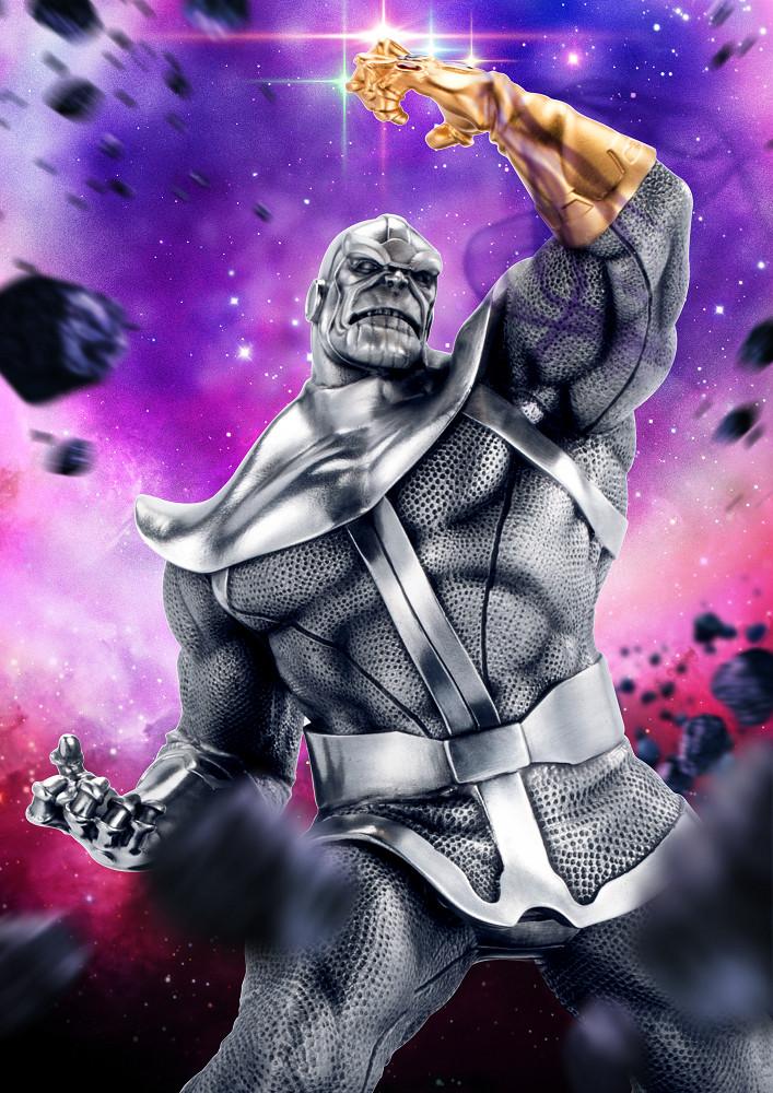 【預購】RS 漫威超級英雄 征服者 薩諾斯 限量錫合金典藏雕像