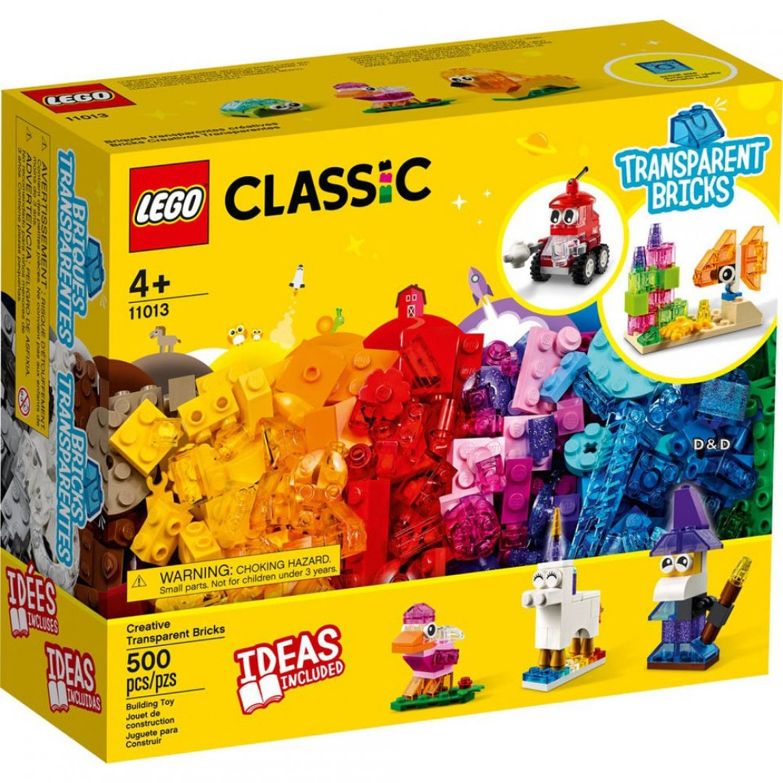樂高 LEGO - 樂高積木 LEGO《 LT11013 》Classic 經典基本顆粒系列 - 創意透明顆粒-500pcs