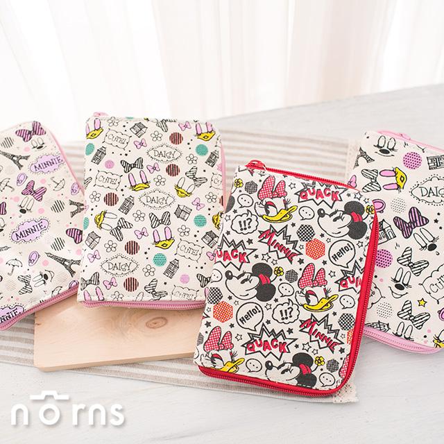 【迪士尼收納夾】Norns  拍立得相片 名片護照收納包 相本 證件套 米奇米妮