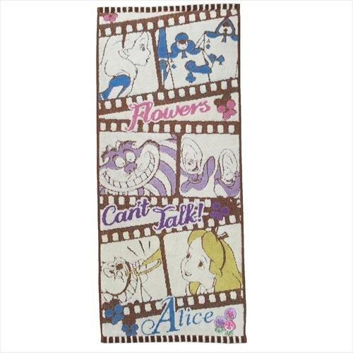 《Disney》電影膠捲毛巾-愛麗絲