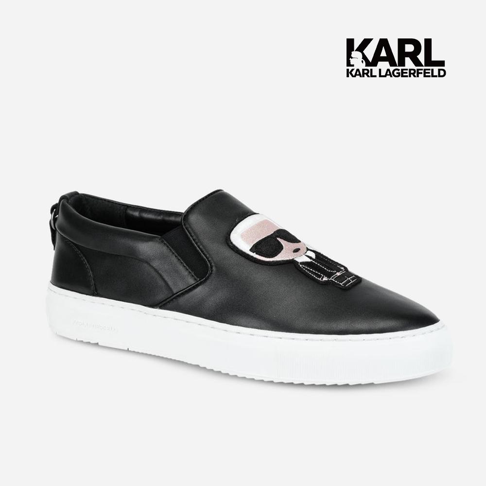 Karl Lagerfeld 卡爾 老佛爺 KUPSOLE IKONIK樂福男鞋-黑  (原廠公司貨)