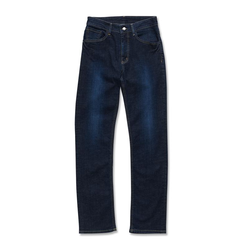 中直筒牛仔褲-男(短、中、長版) 酵洗藍