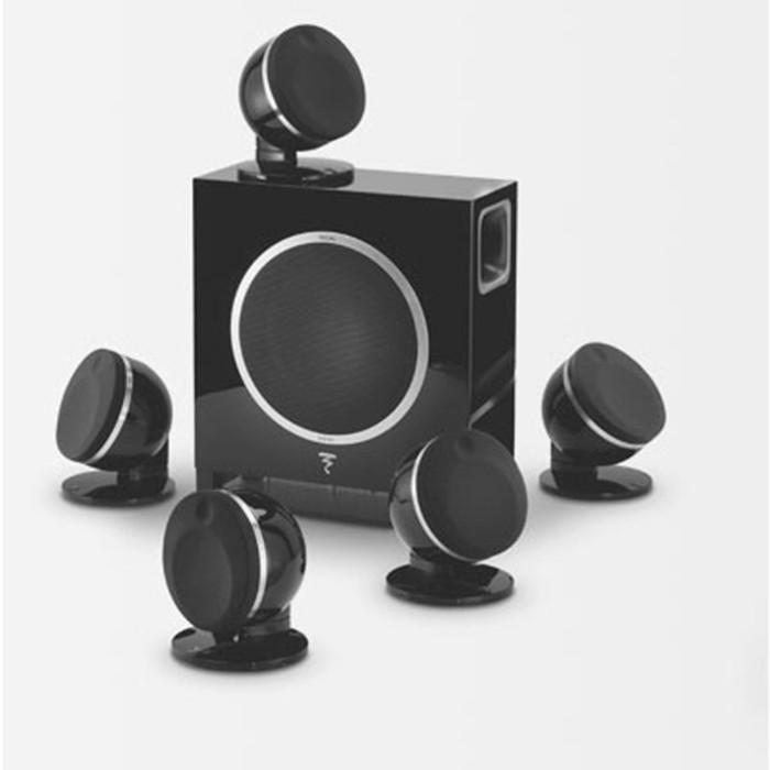法國FOCAL DOME + SUB Air 5.1 聲道無線喇叭 (2色可選) 公司貨《名展影音》