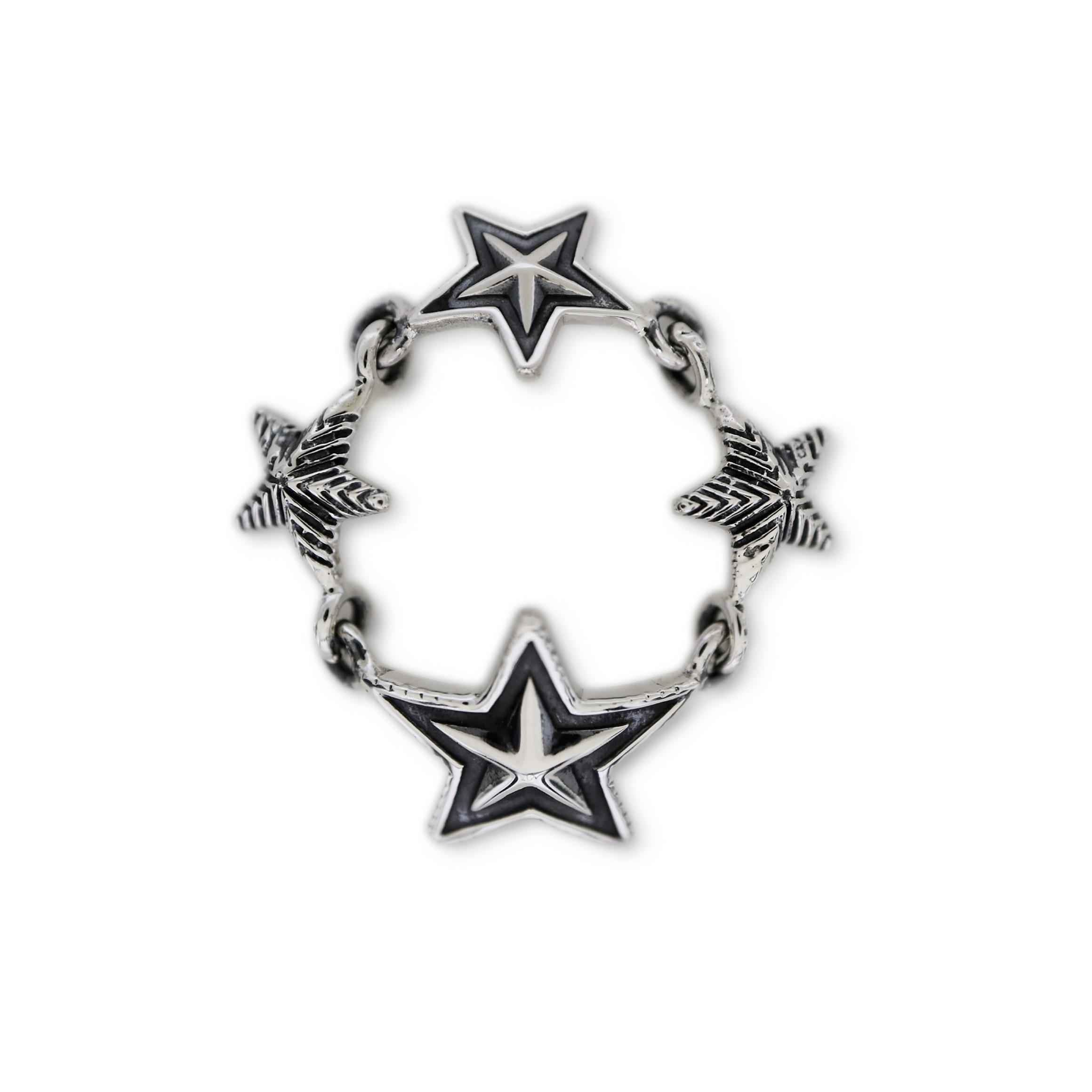 MULTI STAR LINK RING [USD $530]