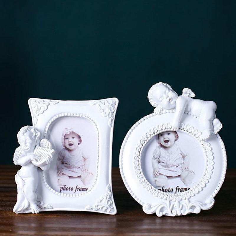 【定格美丽】圣凱斯/ 2寸大頭貼 可愛丘比特 創意相框 家居擺件 婚紗相架S02