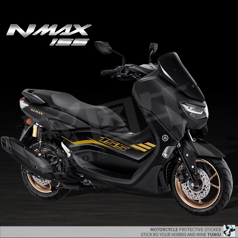 【高品質】適用 雅馬哈 NMAX155 拉花彩貼紙 車貼 改裝 大貿車身 兩側版花 20款 新款