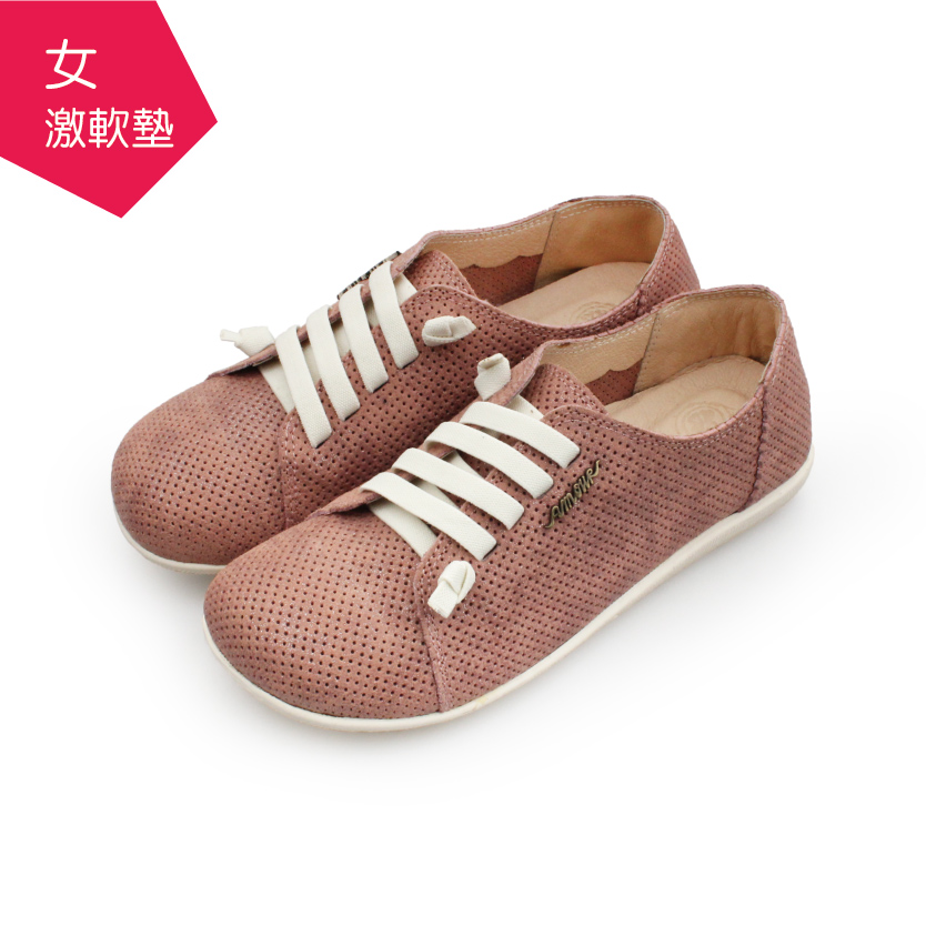 【A.MOUR 經典手工鞋】特色饅頭鞋 - 星辰粉(2851)