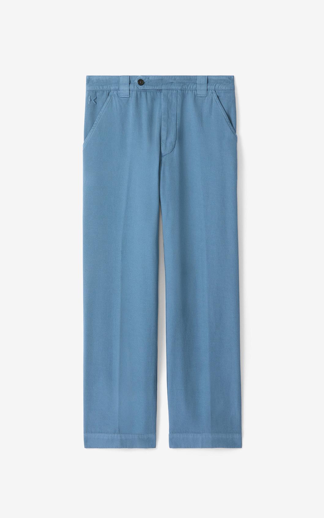 KENZO Pantalon croppé