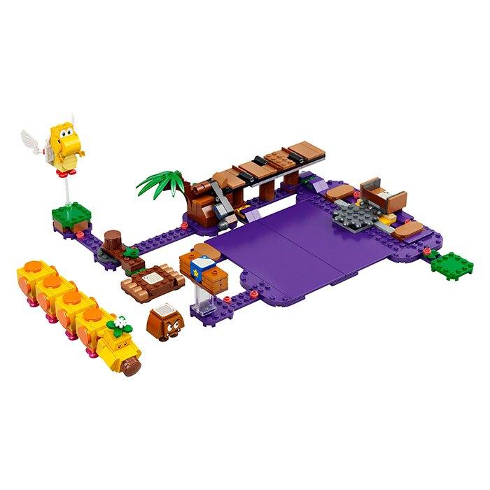 LEGO 樂高 SUPER MARIO 超級瑪利歐 71383 花毛毛的毒沼澤 【鯊玩具Toy Shark】