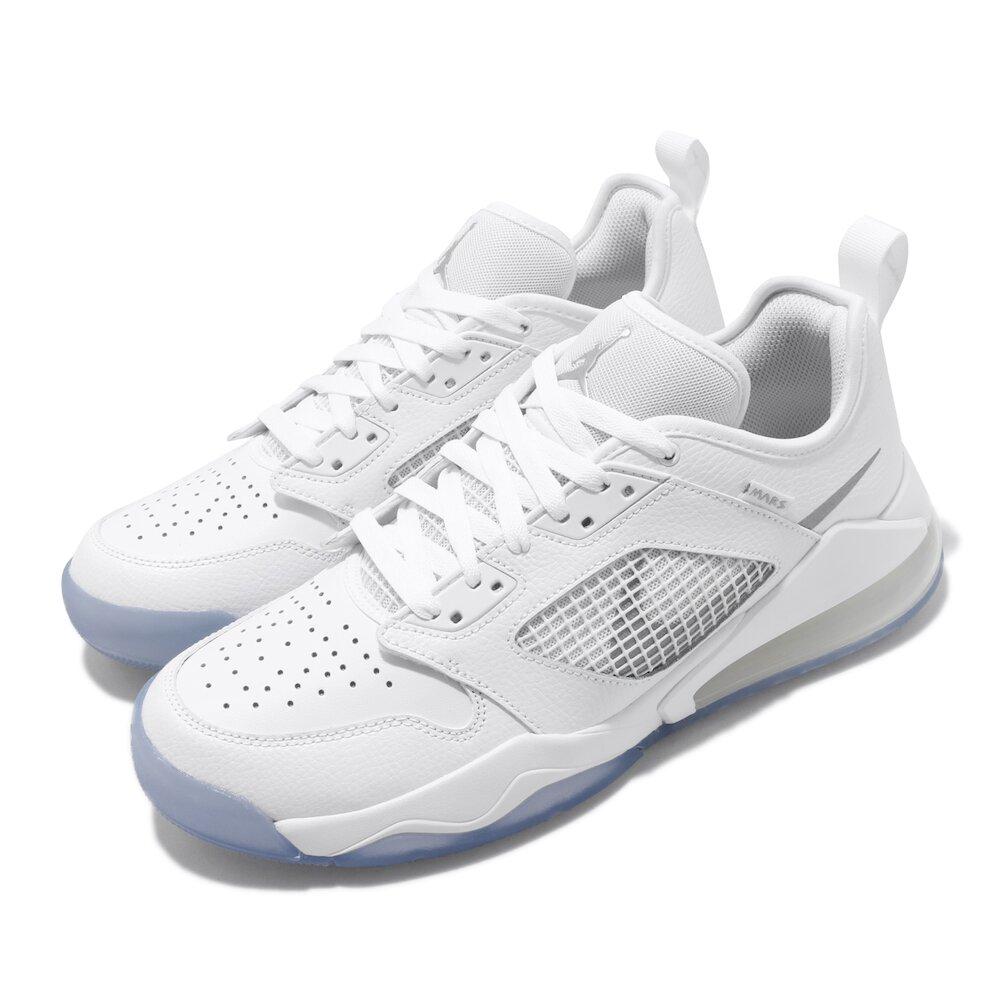 NIKE 籃球鞋 Jordan Mars 270 運動 男鞋 喬丹 氣墊 避震 舒適 包覆 球鞋 白 銀 [CK1196-100]