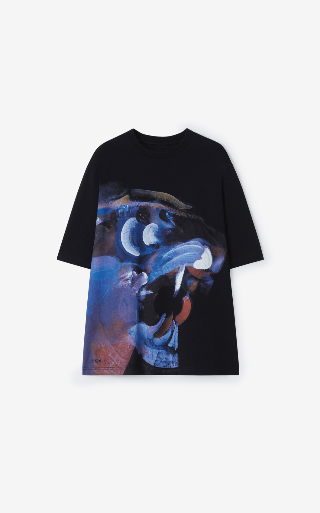 KENZO T-Shirt avec illustration de Jùlio Pomar