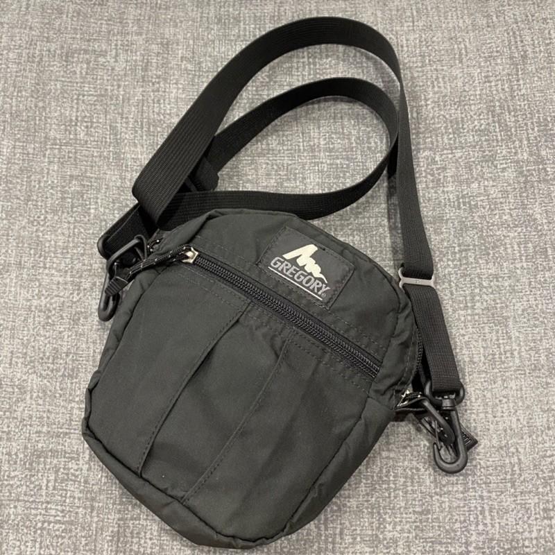 絕版 美國製 舊標 經典黑 Gregory 2L (M) QUICK POCKET 側背 小包
