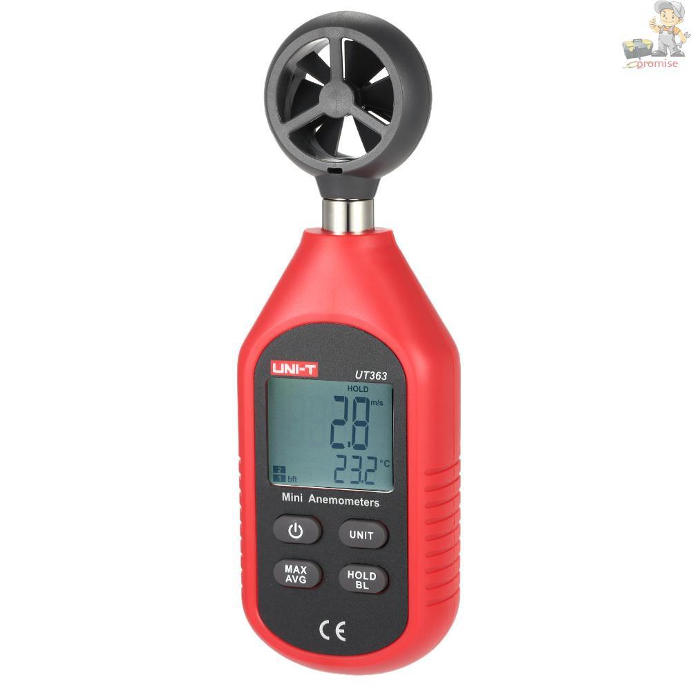 優利德UT363 迷你數字風速計風速風溫風力等級測量不帶電池發貨