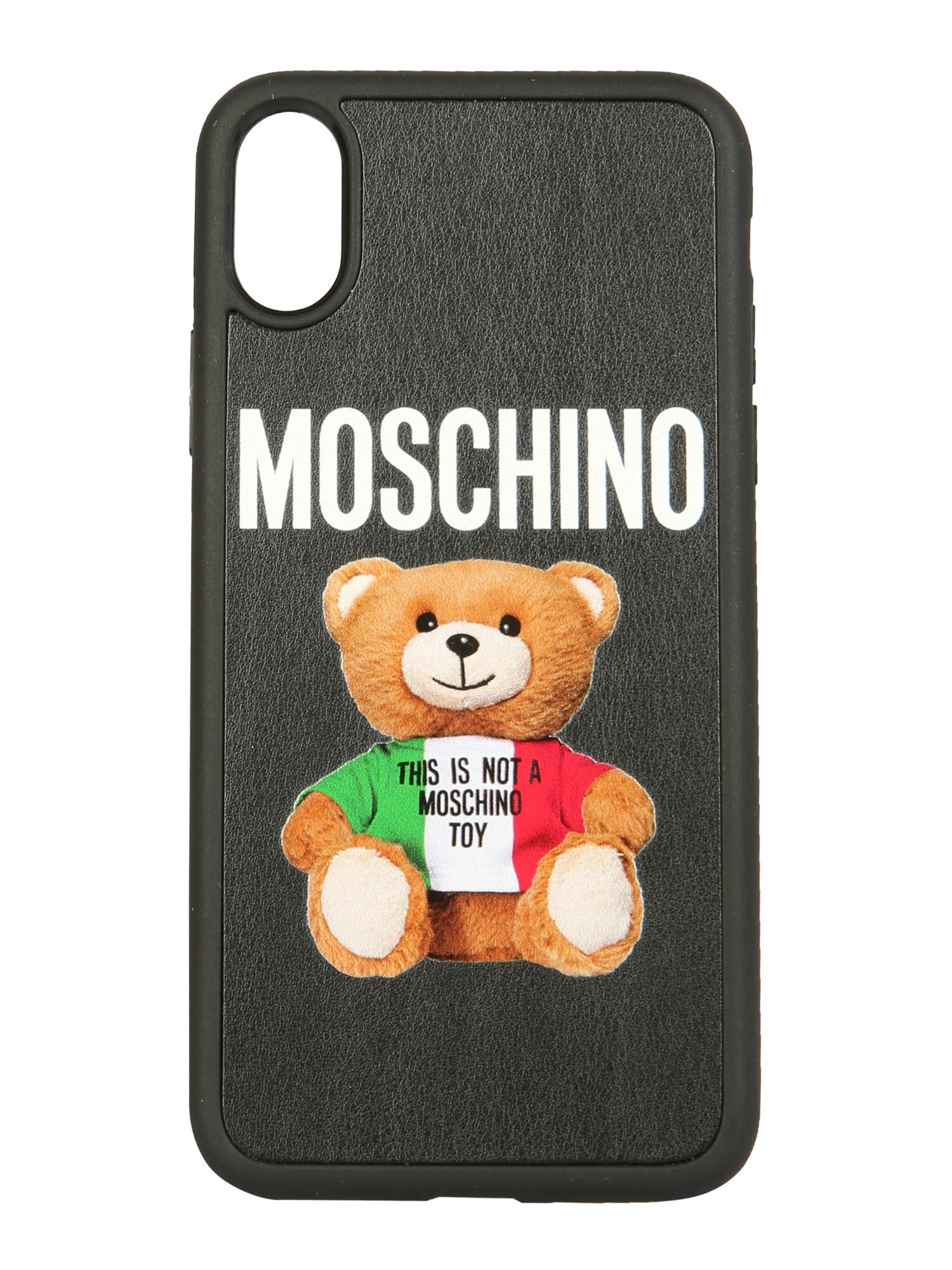 moschino iphone xs / x italian teddy bear cover