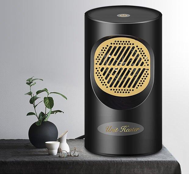 【現貨24H】110V  暖風機 取暖器電暖風機家用電暖氣小太陽熱風機辦公室節能省電小型桌面用