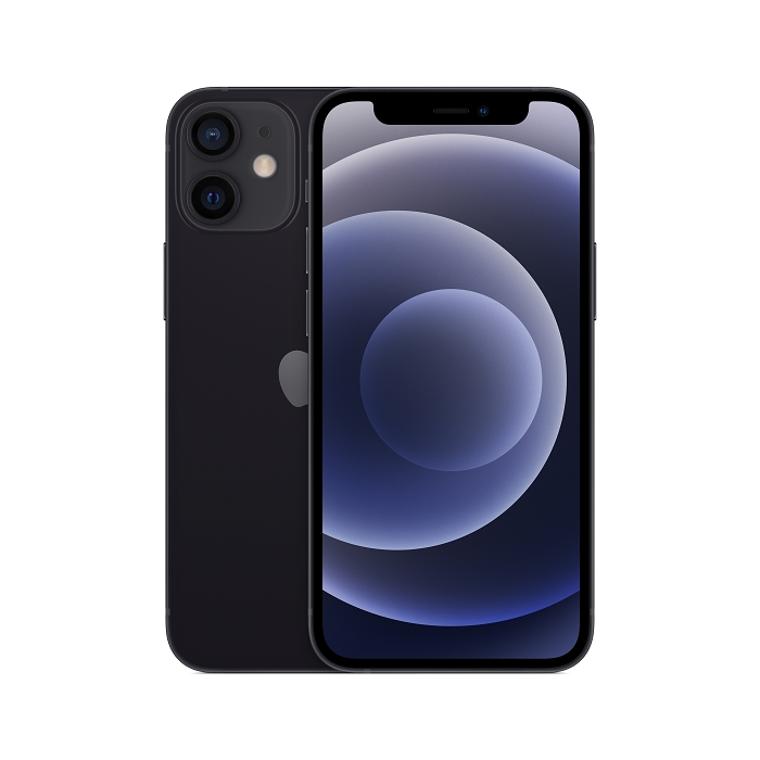 Apple iPhone 12 mini 64G (黑) (5G)【快充組】