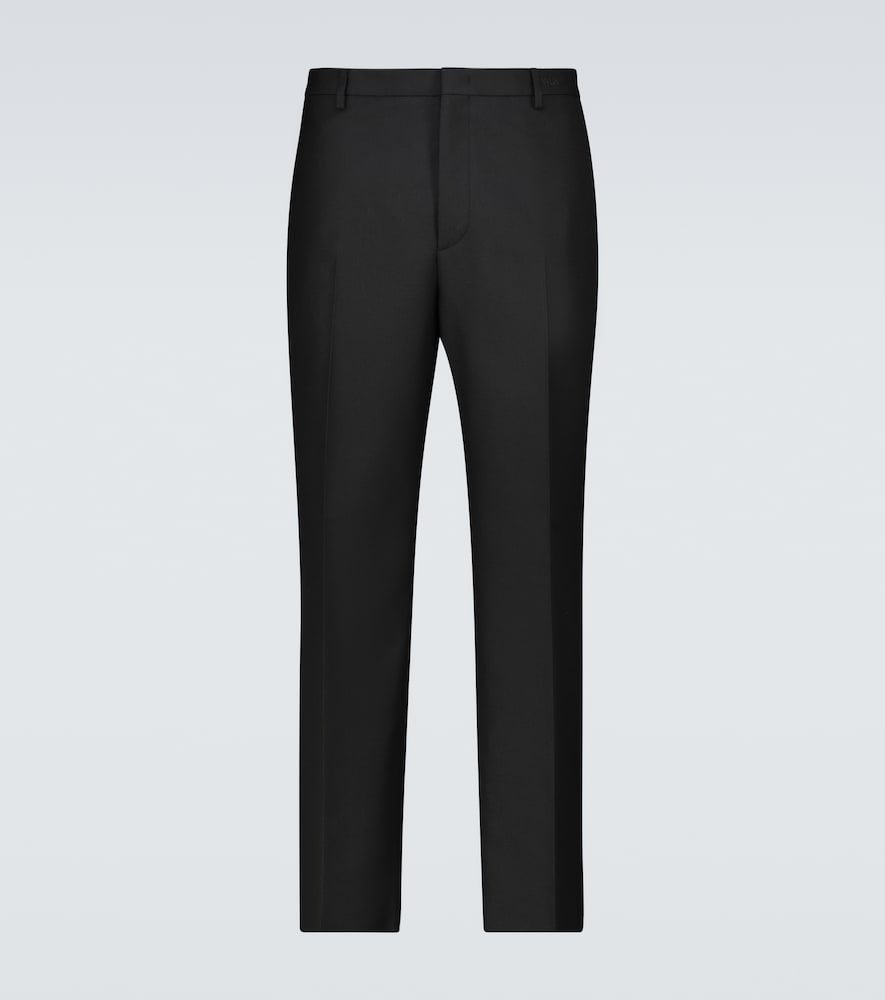 Valentino straight-fit pants with embroidery