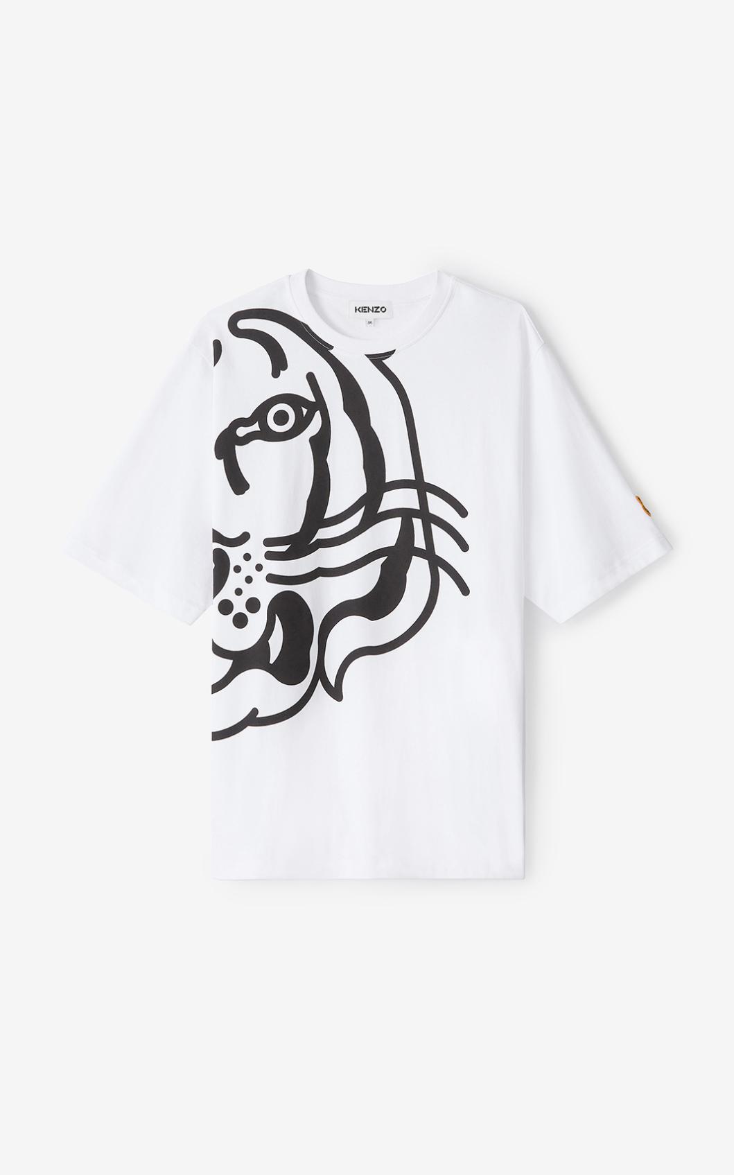 KENZO T-shirt oversize K-Tigre