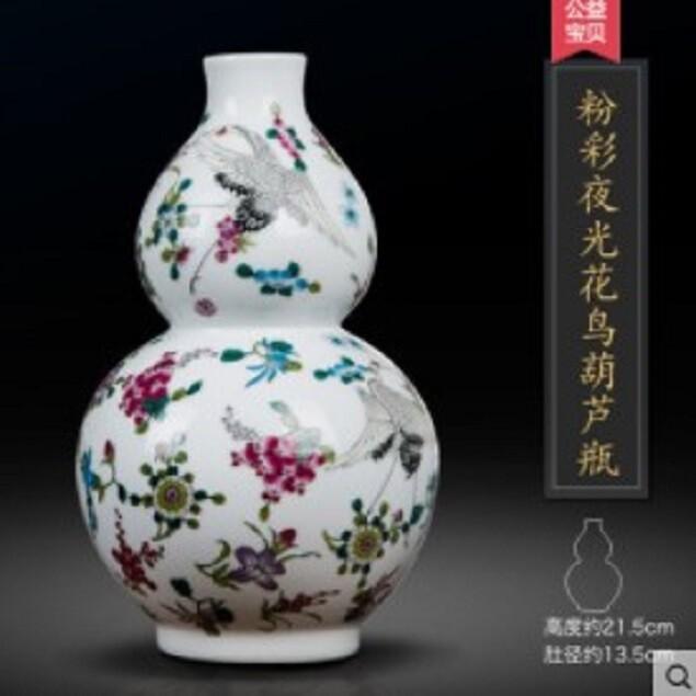 仿古董插花瓶裝飾品(1入3支)