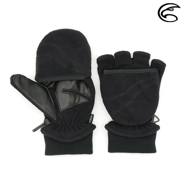 ADISI 防風保暖翻指手套 AS20021 / 城市綠洲 ( 保暖手套 防風手套 騎車手套)