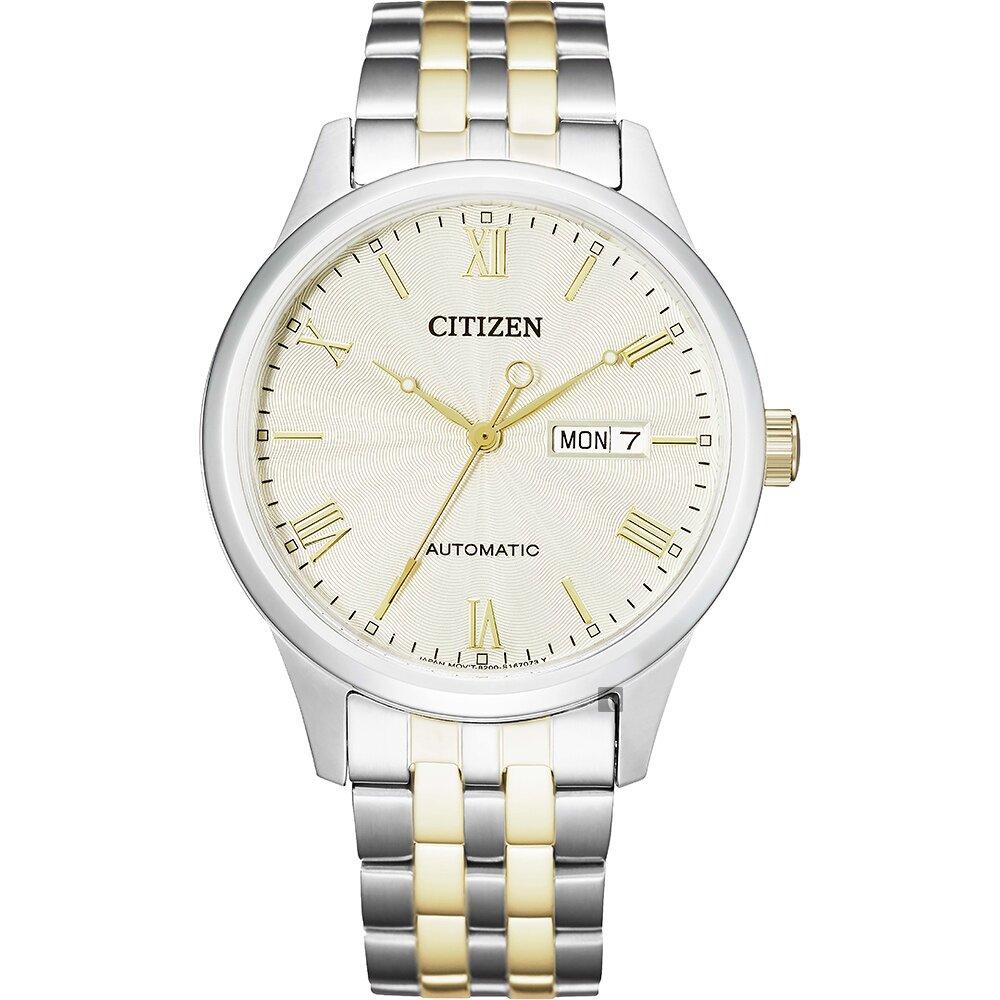 CITIZEN 星辰 日曆機械手錶(NH7506-81A)