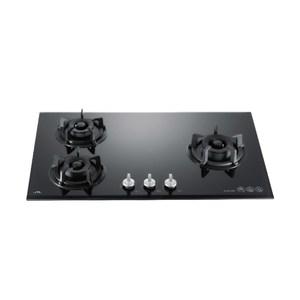 【喜特麗】JT-GC309AB三口黑色玻璃檯面爐_天然氣左大