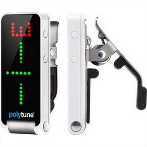 tc dlectronic polytune clip 電吉他 bass 夾式調音器(黑/白兩色)