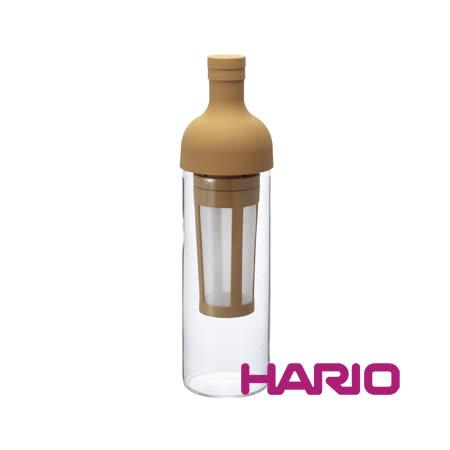 【HARIO】酒瓶冷泡咖啡壺焦糖色650ml FIC-70-MC