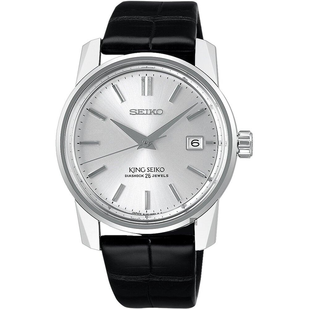 【SEIKO】 精工 140週年限量 KING SEIKO 機械錶(SJE083J1/6L35-00D0Z)-38.1mm