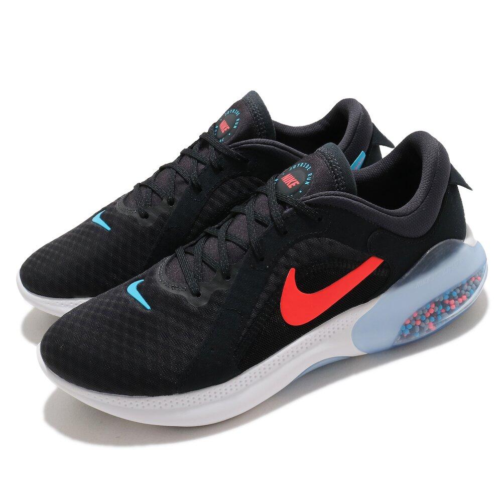 NIKE 慢跑鞋 Joyride Dual Run 2 男鞋 輕量 透氣 舒適 避震 路跑 健身 黑 紅 [CT0307-007]